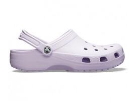 Crocs Γυναικείο Ανατομικό Σαμπό Classic Lavender
