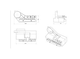 Κεντρική Μονάδα Μοτέρ Ηλεκτρικής Κλίνης AC-5051