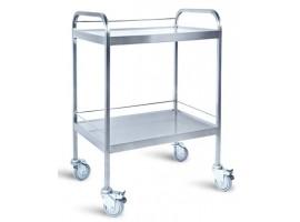 Τροχήλατο Νοσηλείας inox 50x70cm