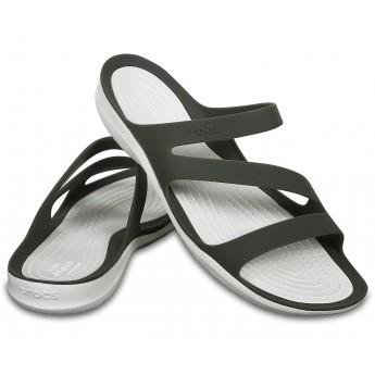 Crocs Swiftwater Sandal W Smoke/White (06X)