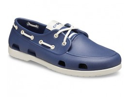 Crocs Classic Boat Shoe M Navy/Stucco (46K)