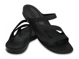 Crocs Swiftwater Sandal  W Black/Black (001)