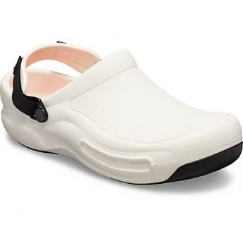 Crocs Επαγγελματικό Σαμπό Bistro Pro LiteRide Clog White 100