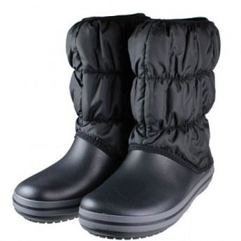 Crocs Winter Puff Boot Black