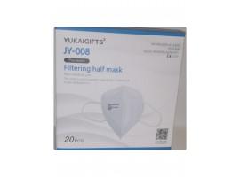 Μάσκα Προστασίας FFP3 χωρίς βαλβίδα (1 τμχ)